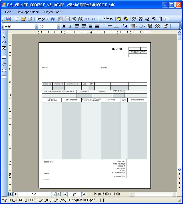 forms design